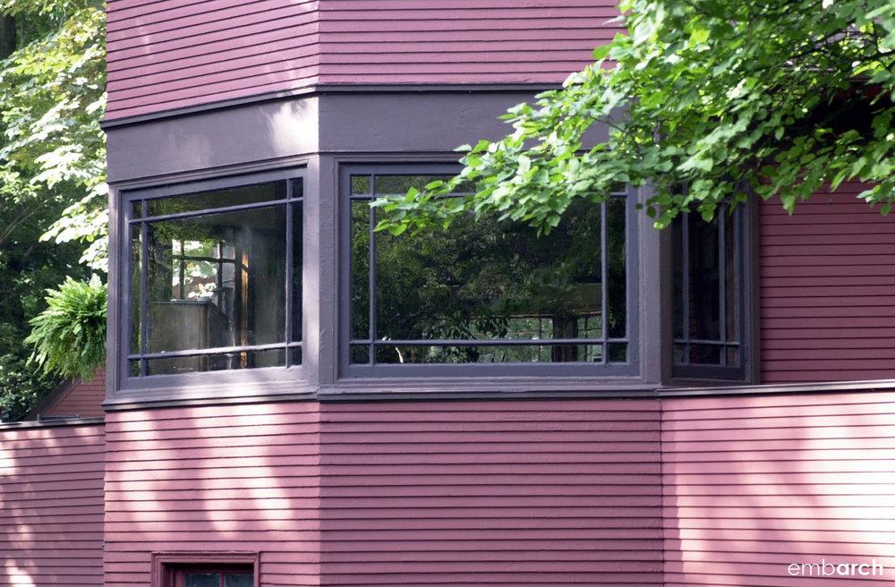 Robert P. Parker House - exterior detail
