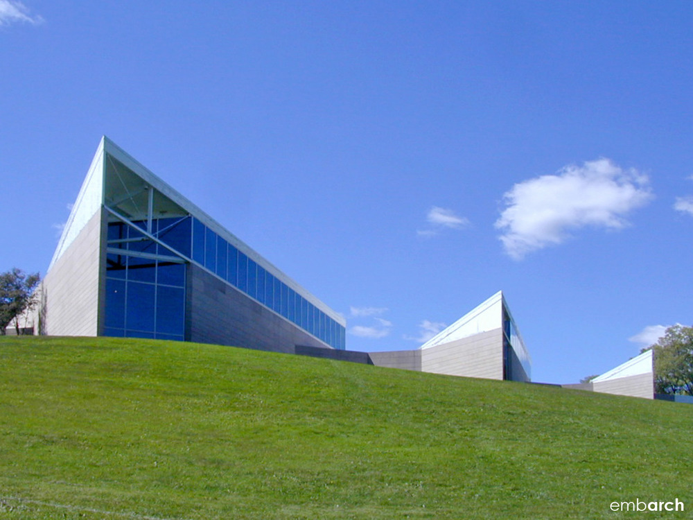 Miami University Art Museum - view of exterior