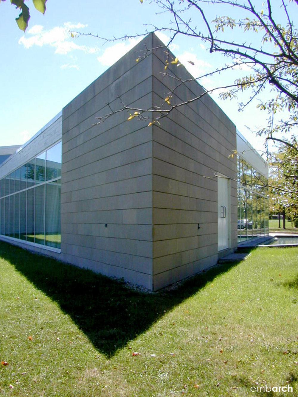 Miami University Art Museum - exterior detail