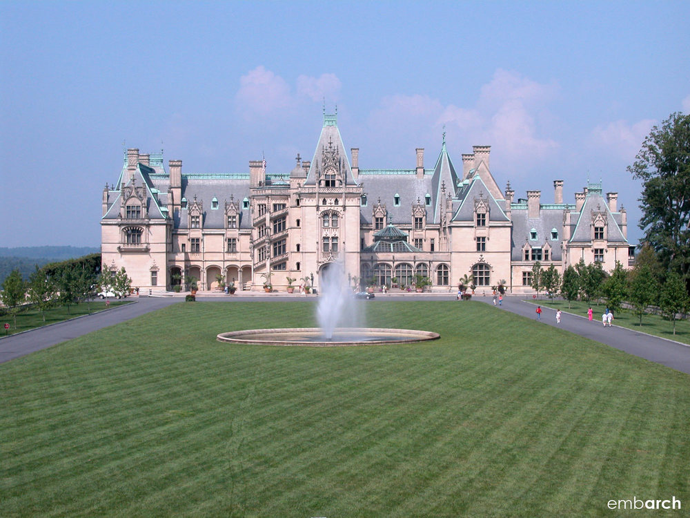 Biltmore Estate - view of exterior