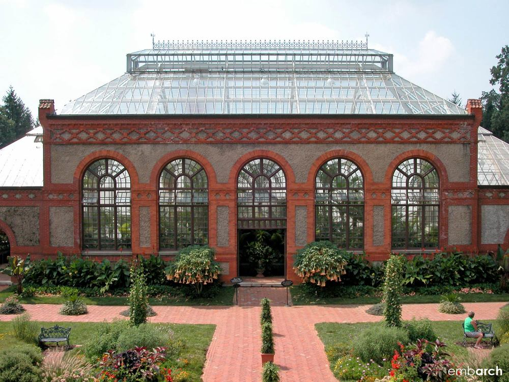Biltmore Estate - conservatory