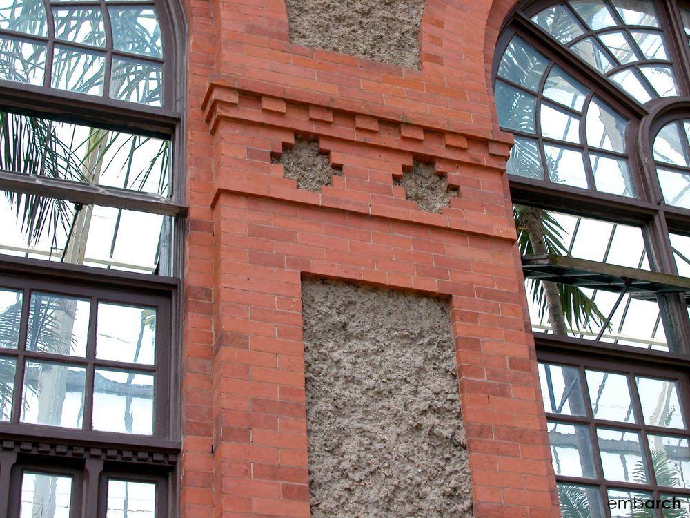 Biltmore Estate - conservatory exterior detail