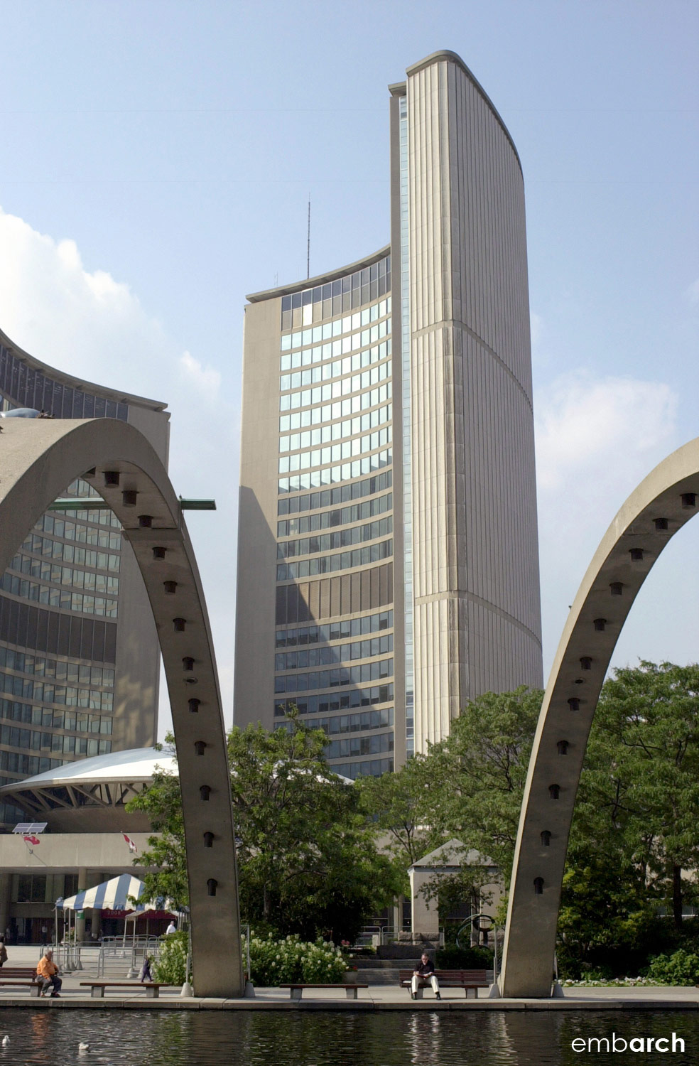 Toronto City Hall - view of exterior