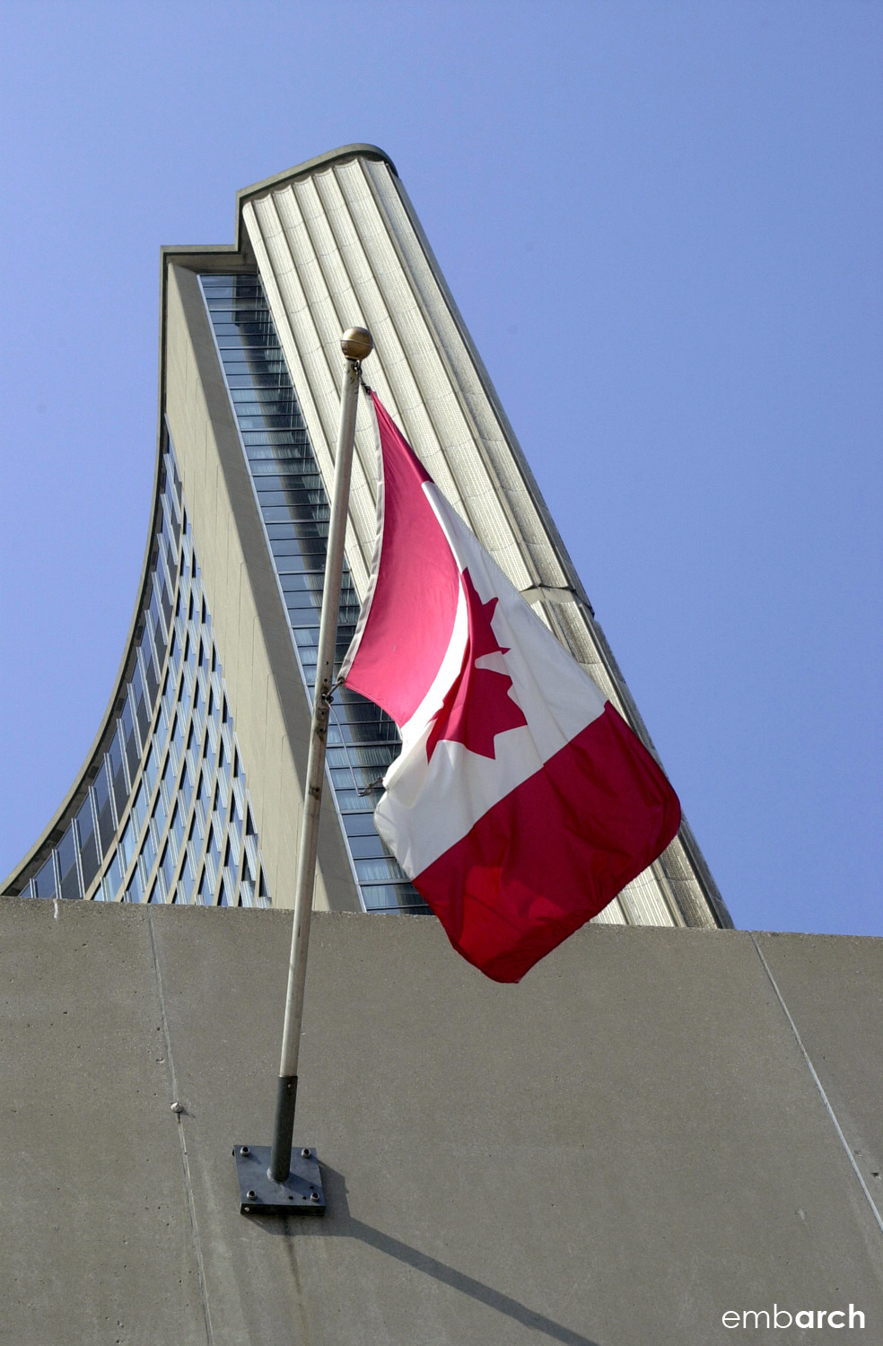 Toronto City Hall - exterior detail