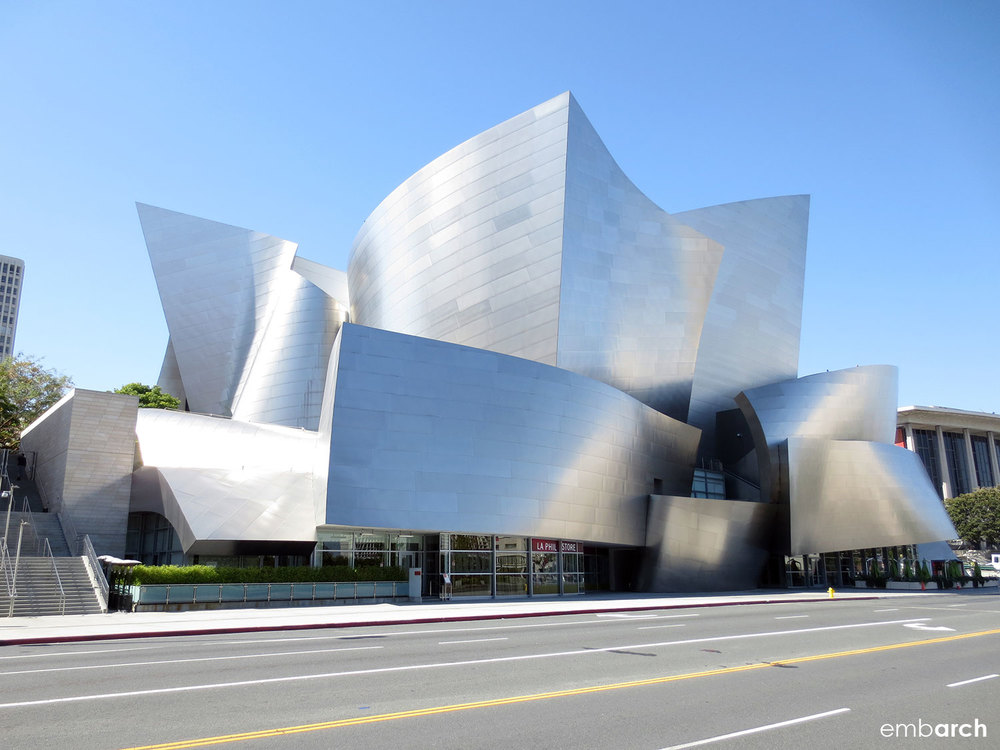 Walt Disney Concert Hall - view of exterior
