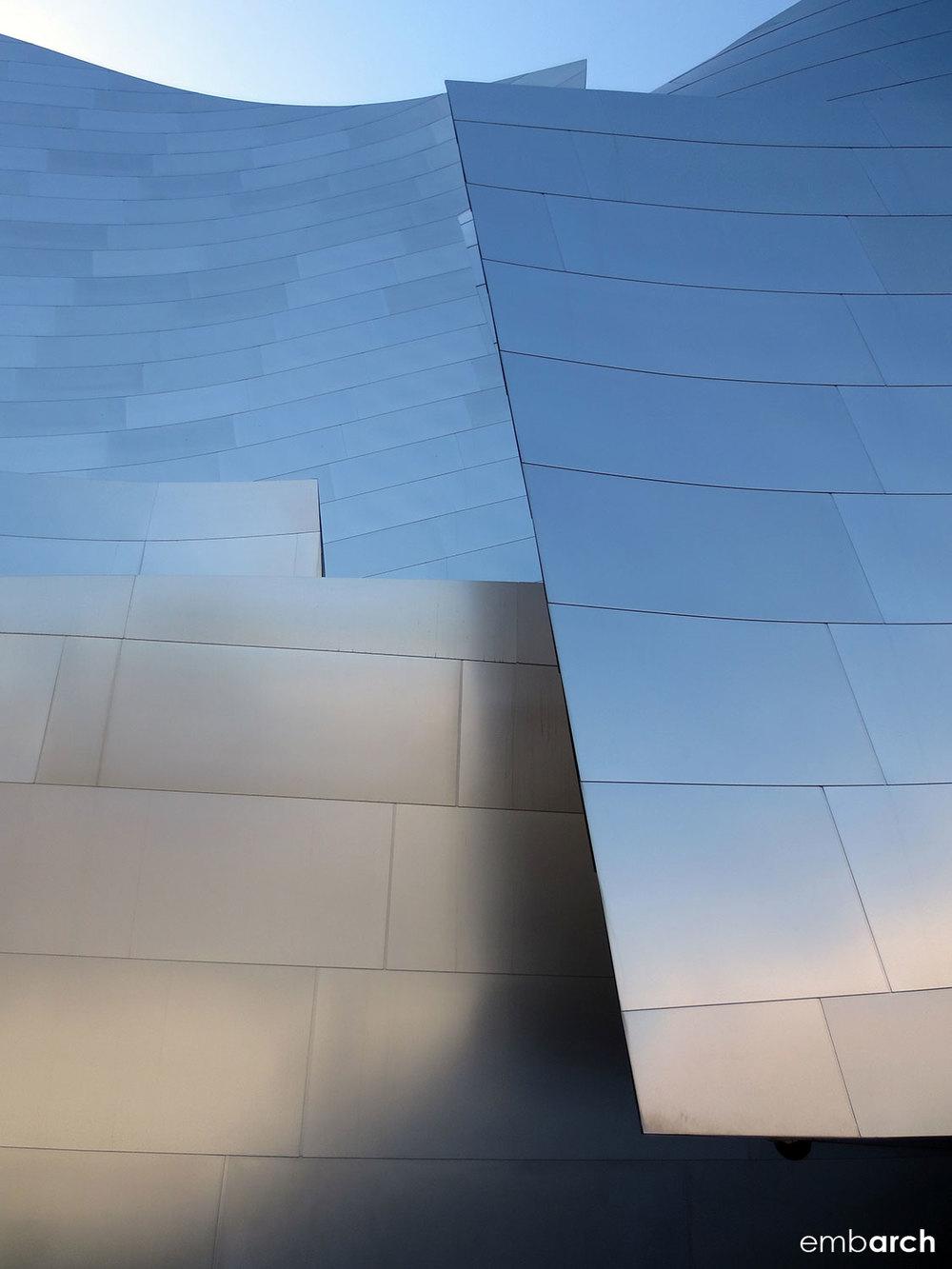 Walt Disney Concert Hall - exterior detail
