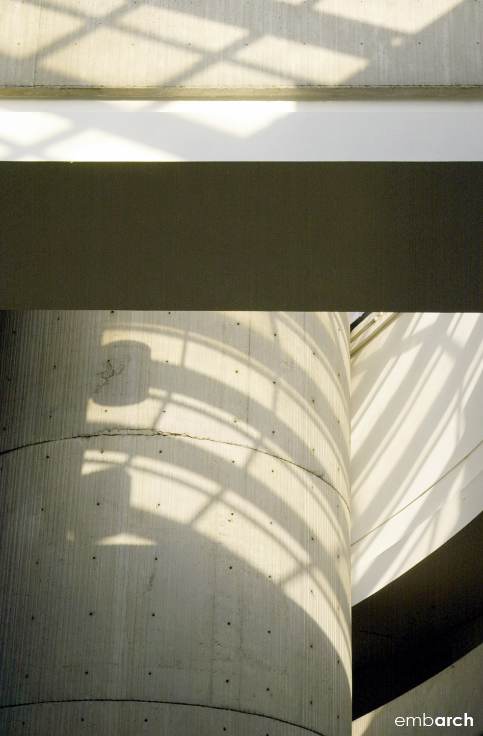 GM Renaissance Center - interior detail