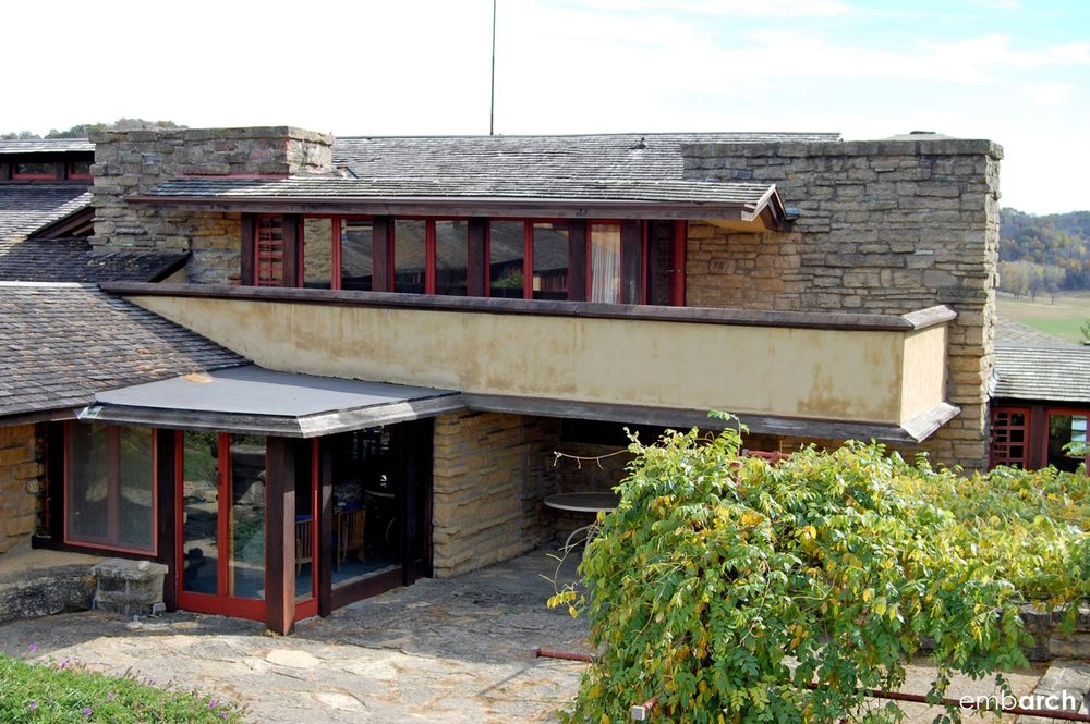 Taliesin East - view of exterior