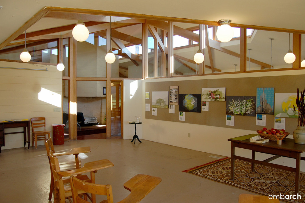 Wyoming Valley School - interior