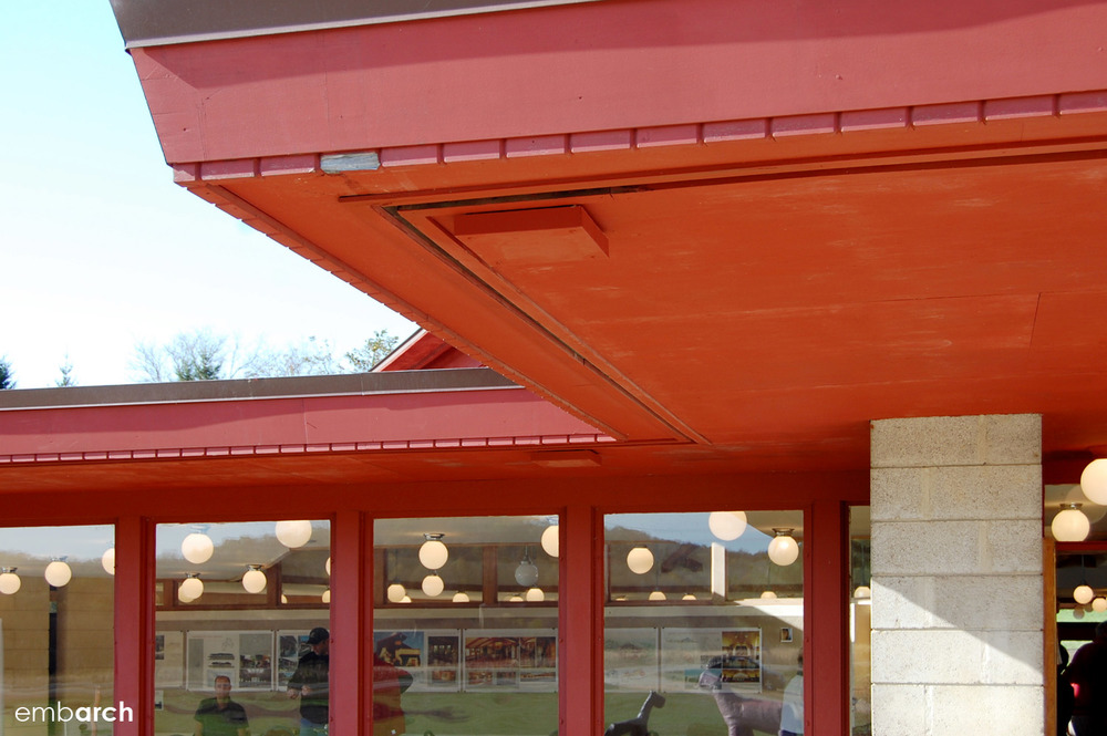 Wyoming Valley School - exterior detail
