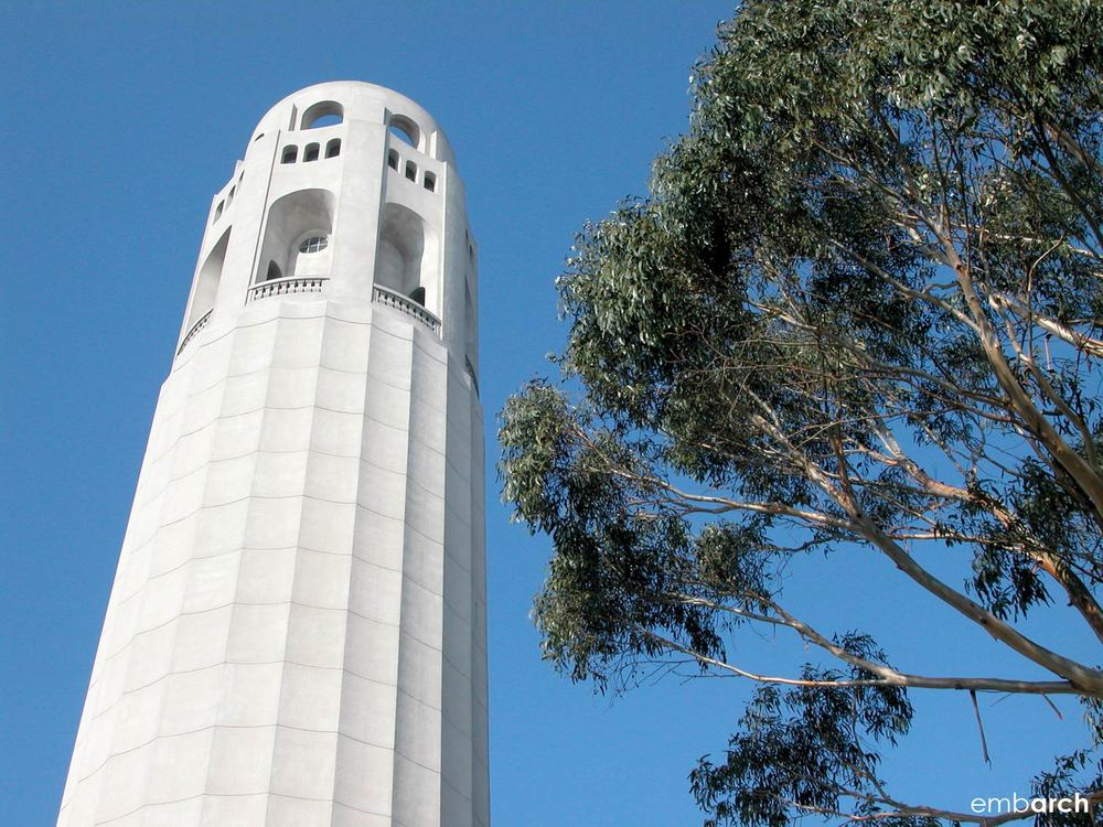 Coit Tower - exterior detail