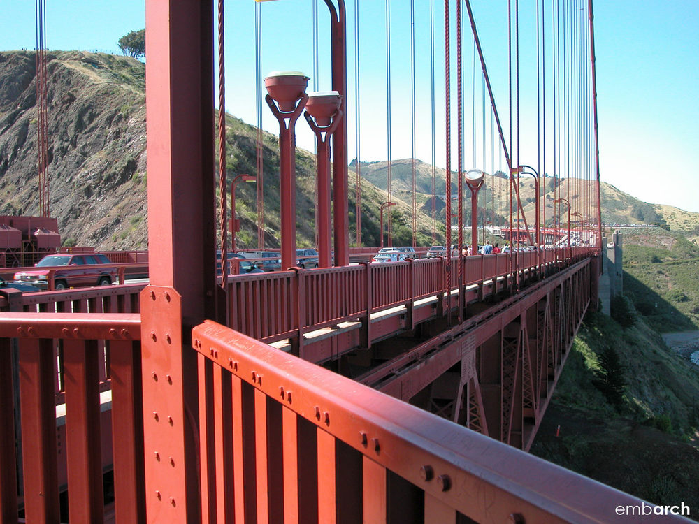 Golden Gate Bridge - detail