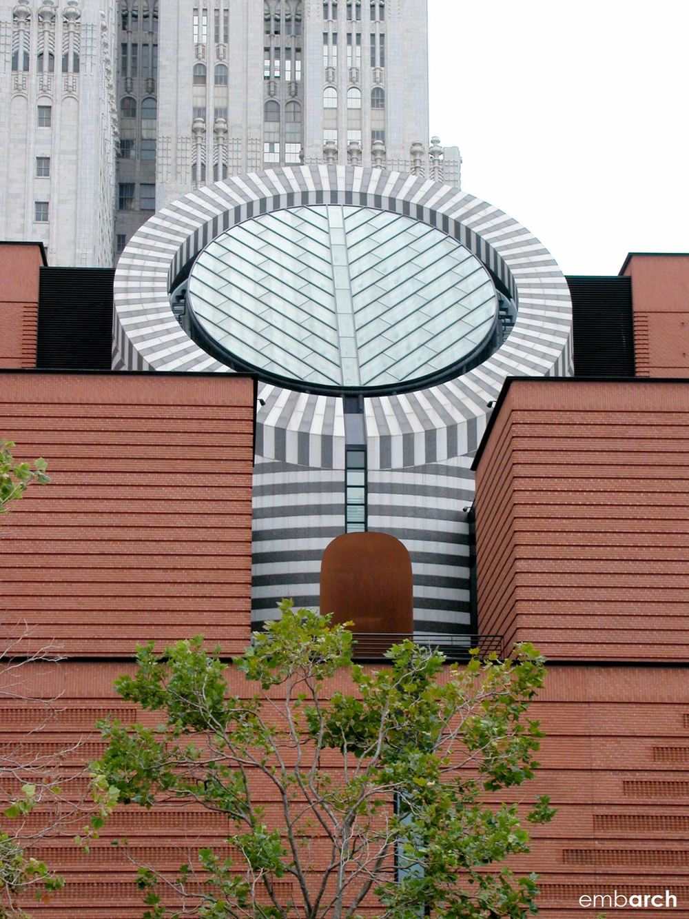 San Francisco Museum of Modern Art - exterior detail