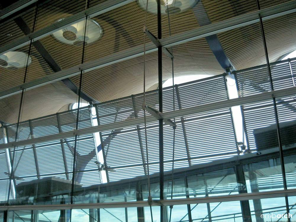 Madrid-Barajas Airport - interior detail