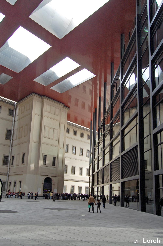 Museo Reina Sofia - courtyard