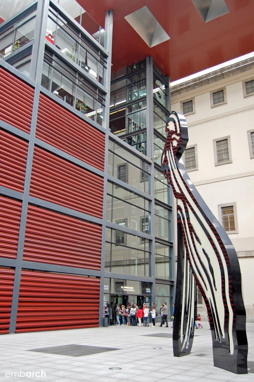 Museo Reina Sofia - detail
