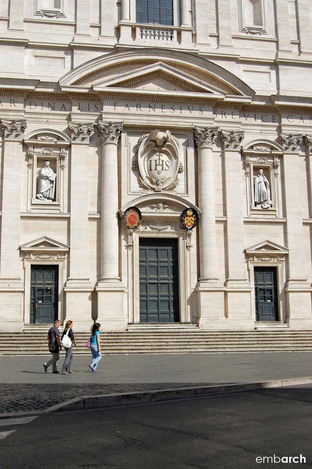 Church of the Gesù - exterior