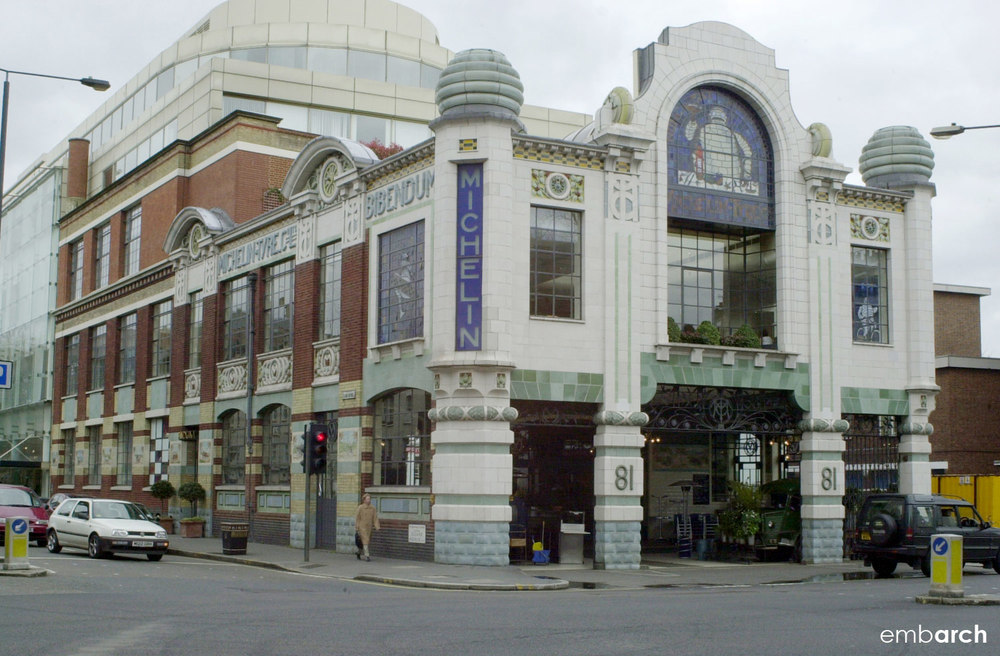 Michelin House - view of exterior