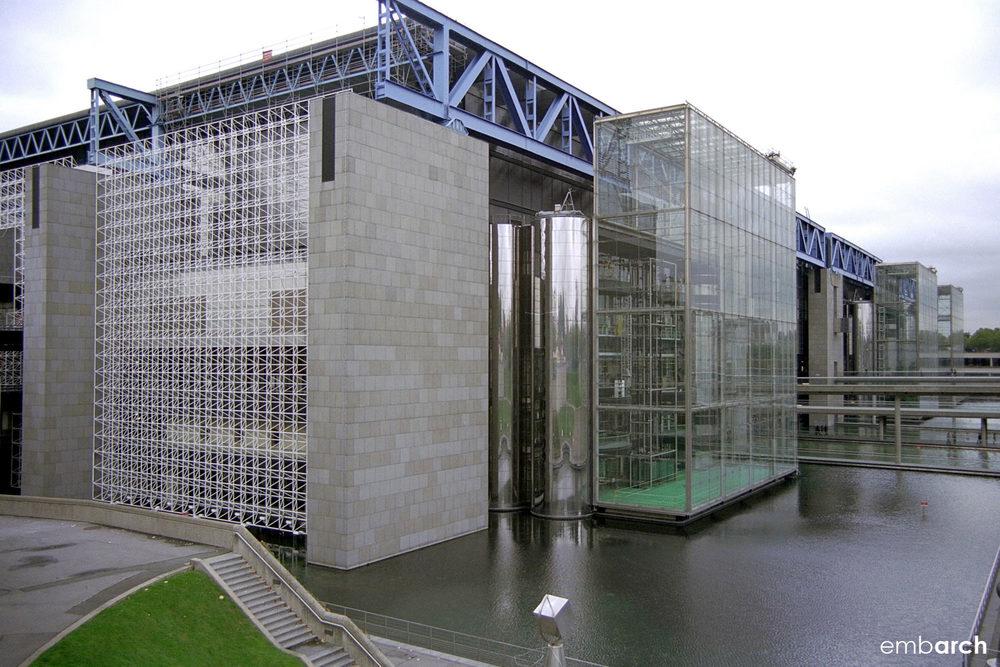 Cité des Sciences et de l'Industrie - exterior