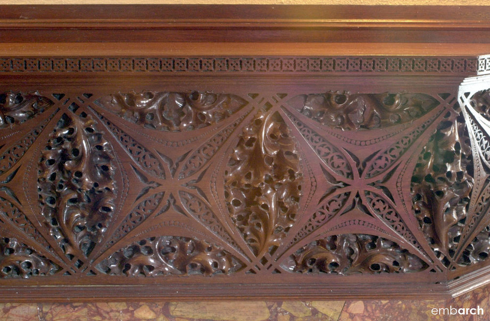 Charnley-Persky House - interior detail