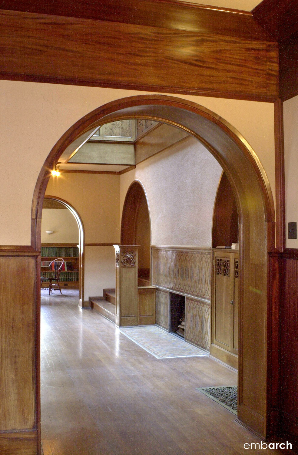 Charnley-Persky House - interior