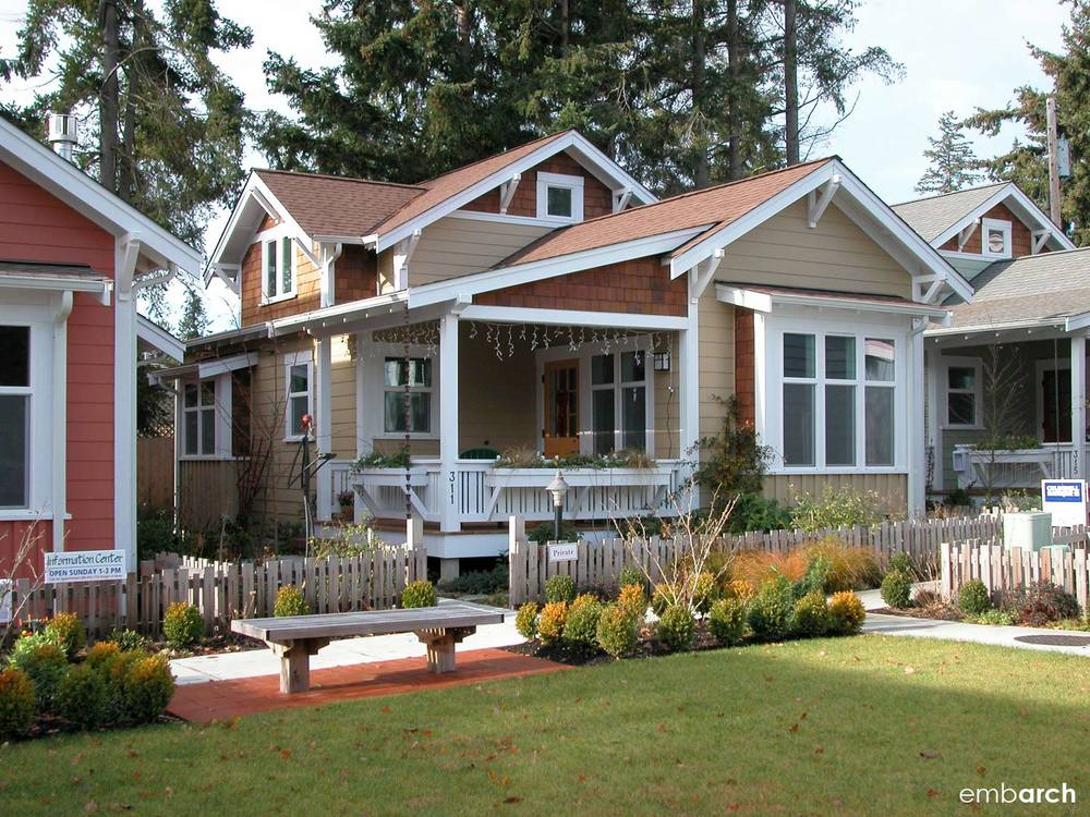 Ericksen Cottages, Bainbridge Island, Washington, USA