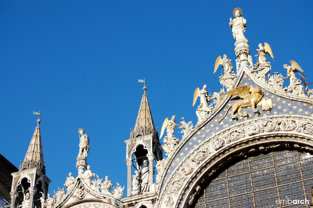 Saint Mark's Basilica - exterior detail