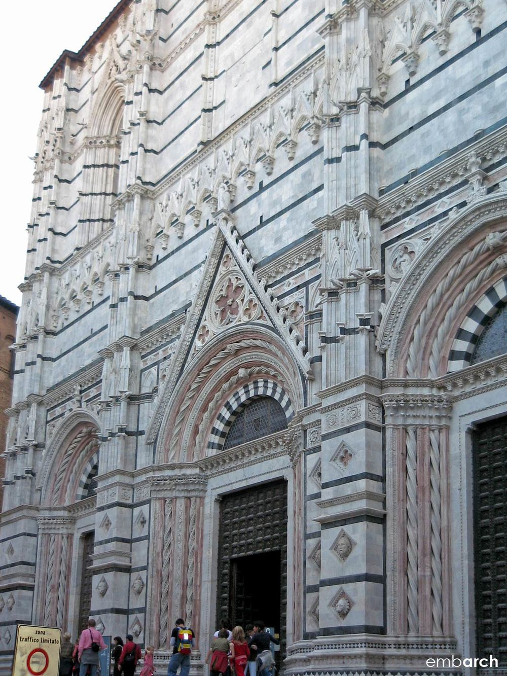 Siena Cathedral - exterior