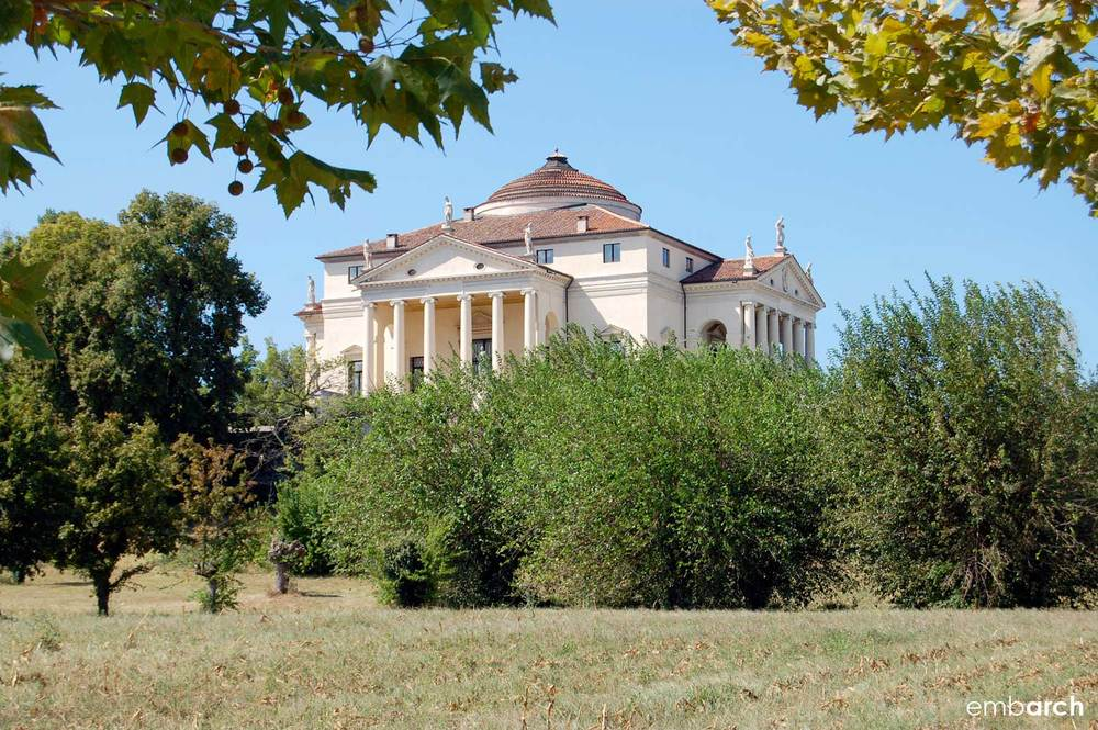Villa Almerico Capra (also known as Villa la Rotonda), Vicenza, Italy