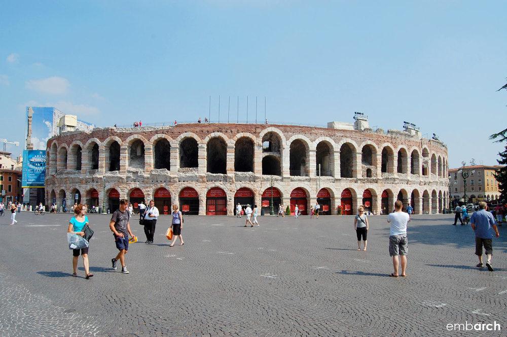 Arena di Verona (Arena Verona) - view of exterior