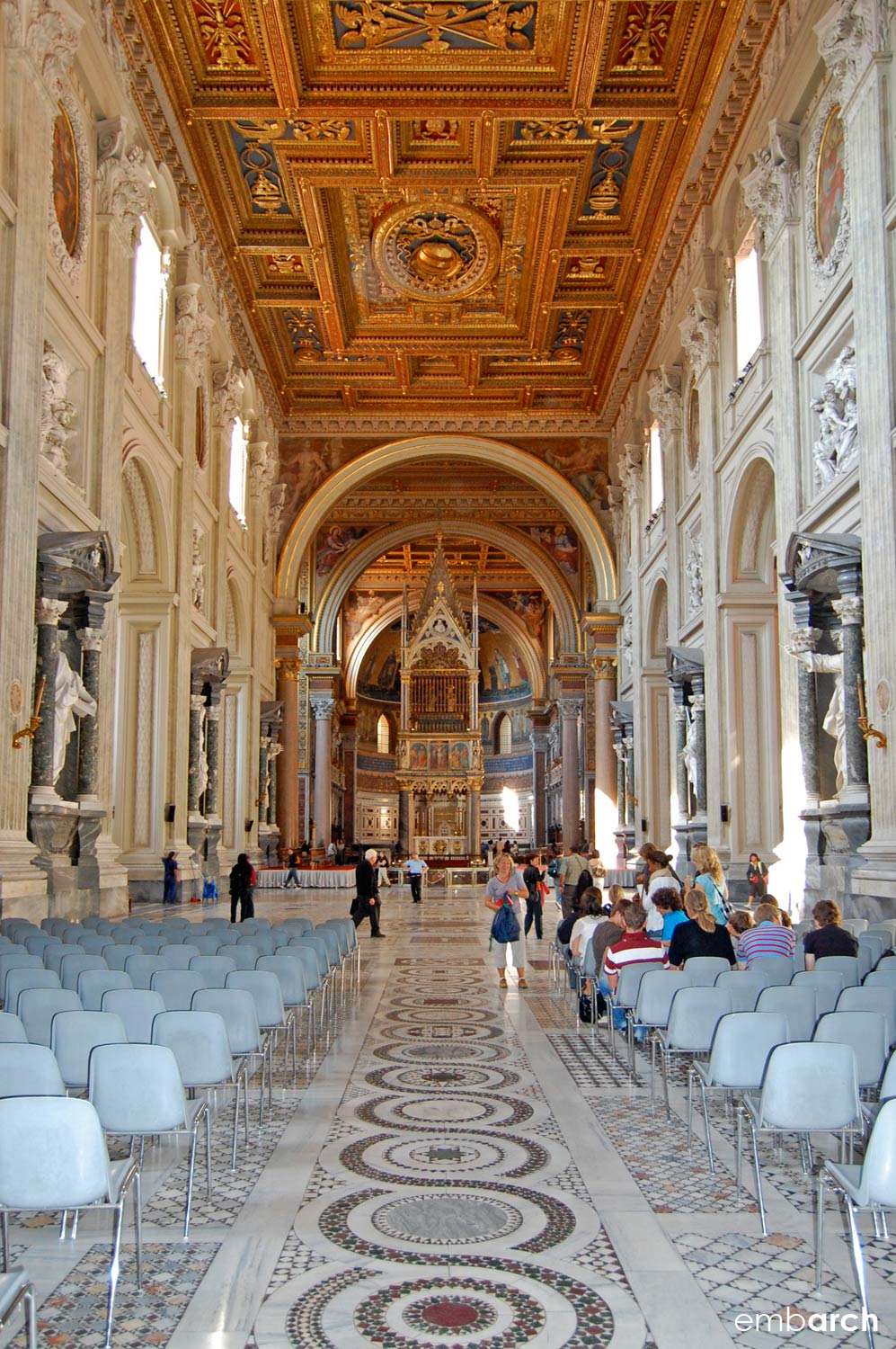 Papal Archasilica of St. John Lateran - nave interior