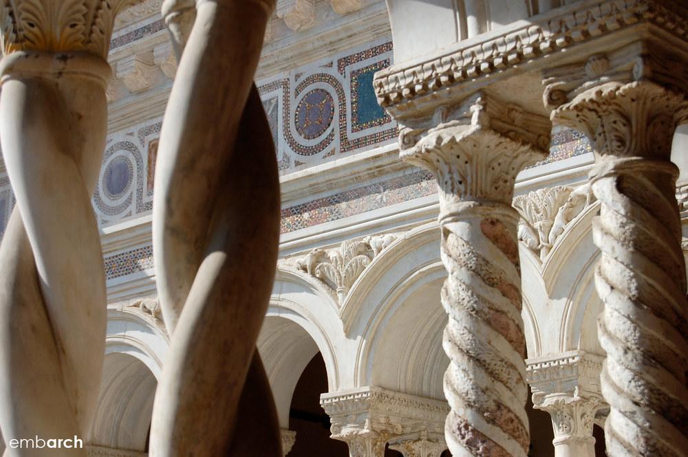 Papal Archasilica of St. John Lateran - cloister detail