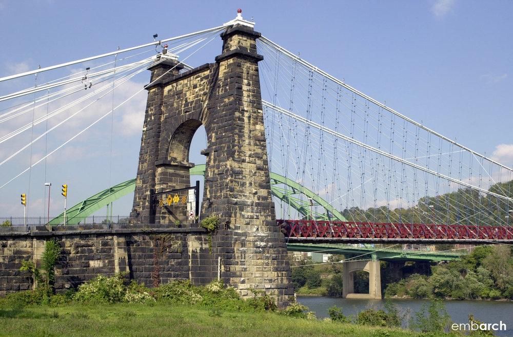 Wheeling Bridge - Exterior