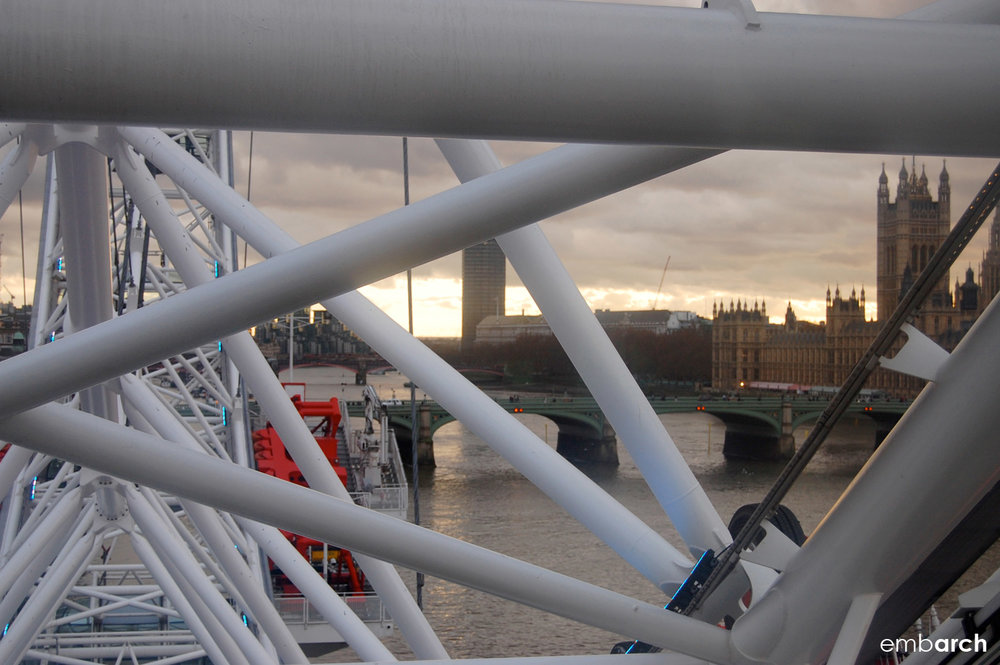 London Eye - Detail