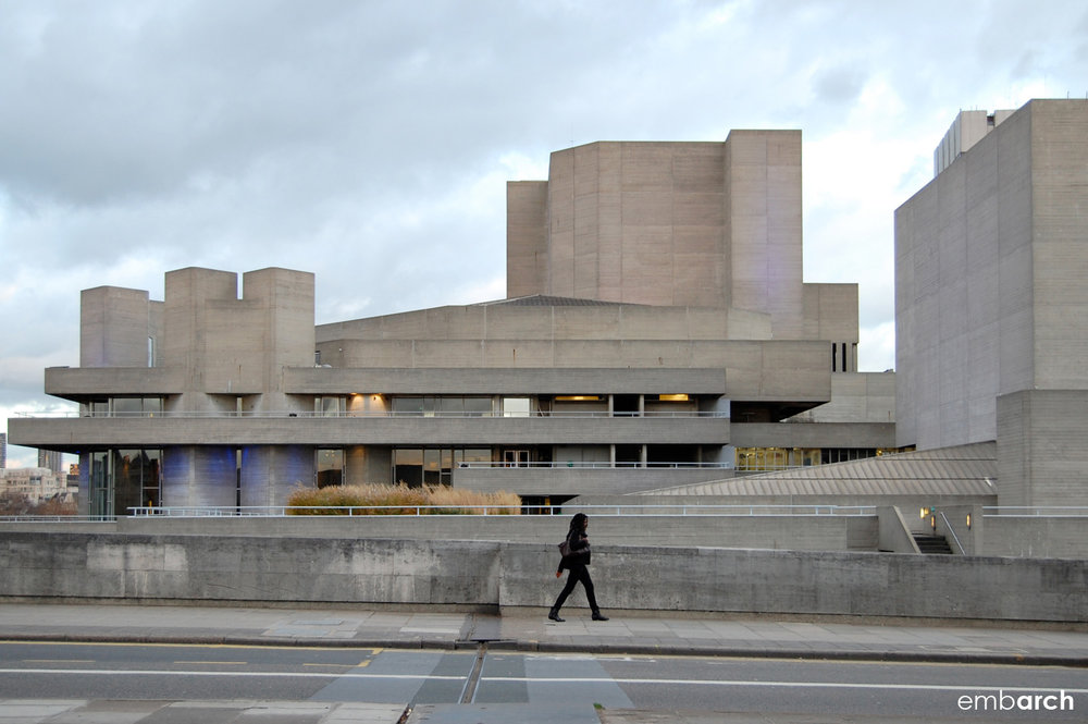 Royal National Theatre - exterior