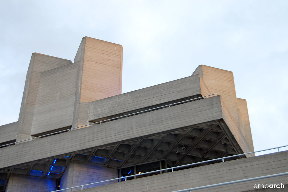 Royal National Theatre - exterior detail