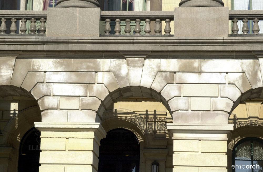 Capitol - exterior detail