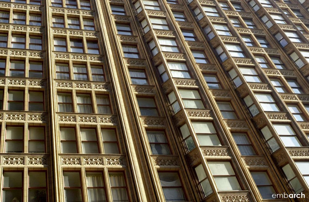 Fisher Building - exterior