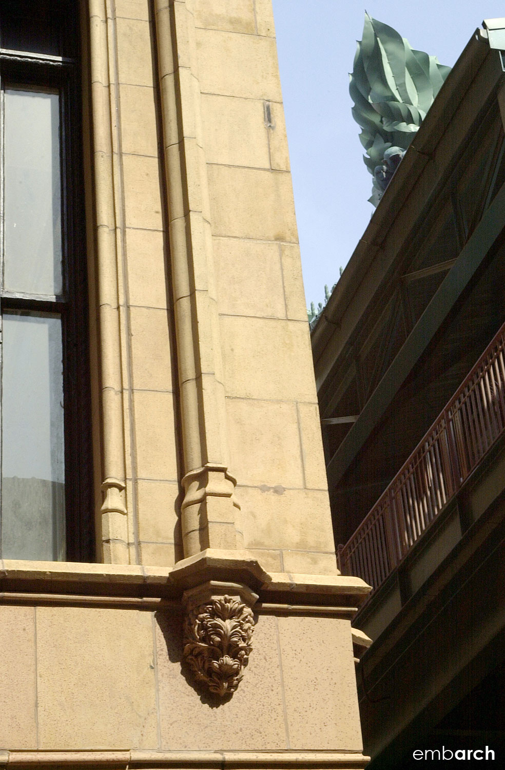 Fisher Building - exterior detail