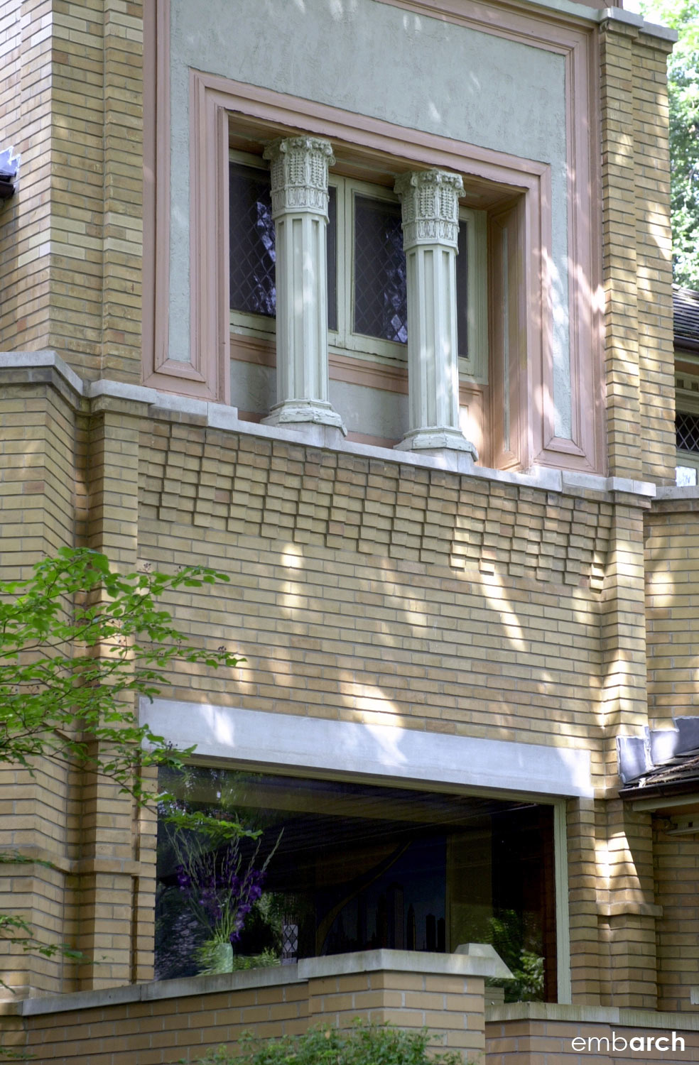 R Furbeck House - exterior detail