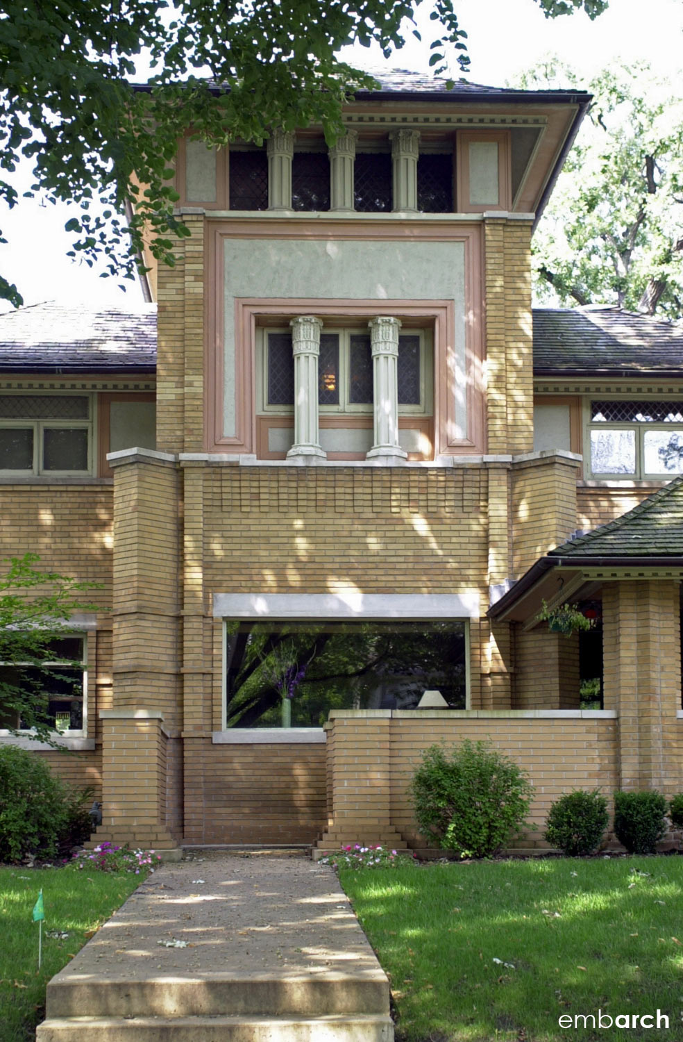 R Furbeck House - exterior