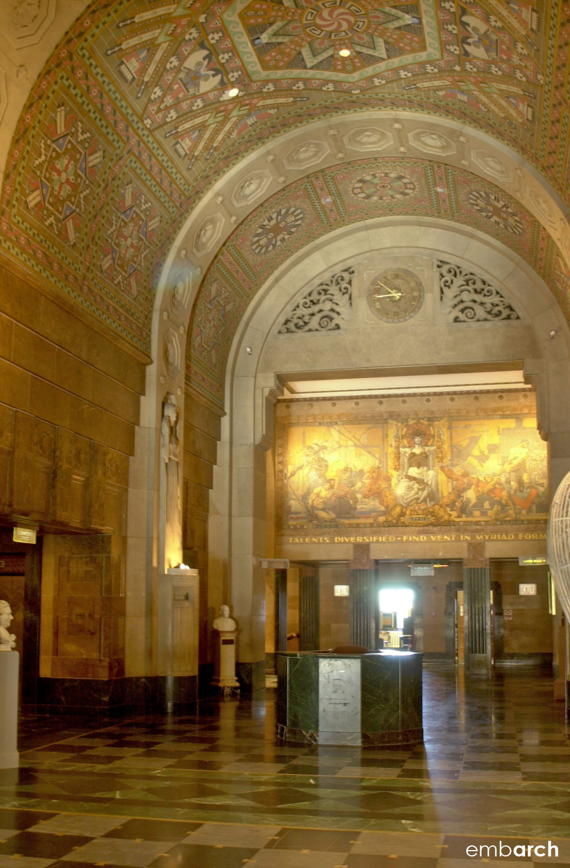 City Hall - interior detail