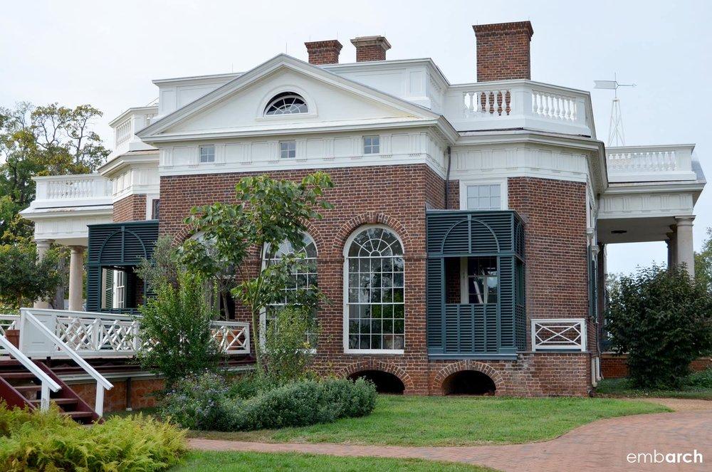 Monticello - exterior