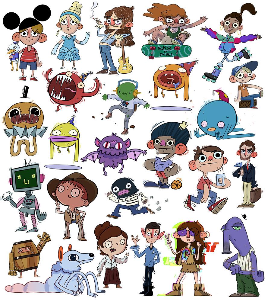 25 Characters B