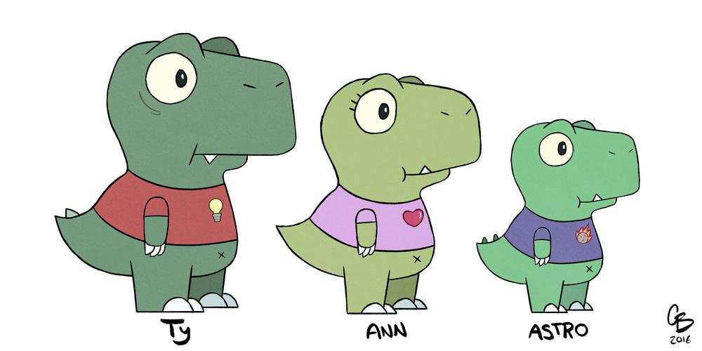 Ty, Ann, & Astro