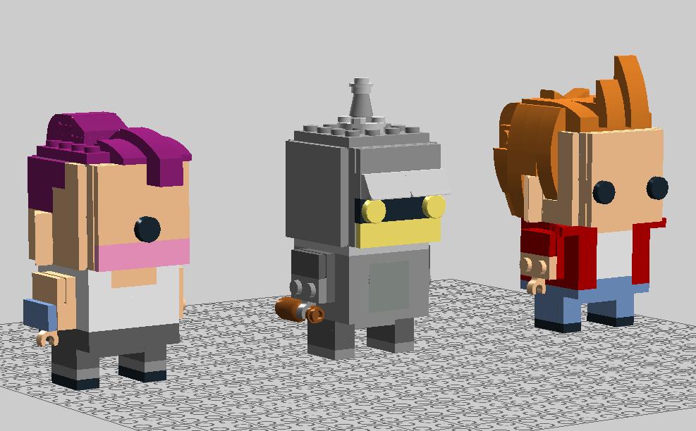 Leele, Bender, & Fry