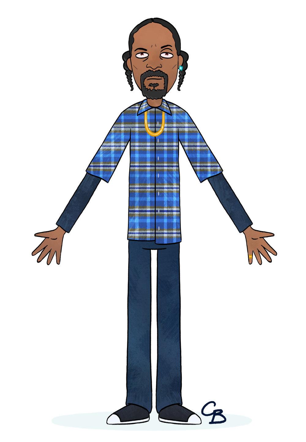 Snoop Dogg x Rick and Morty