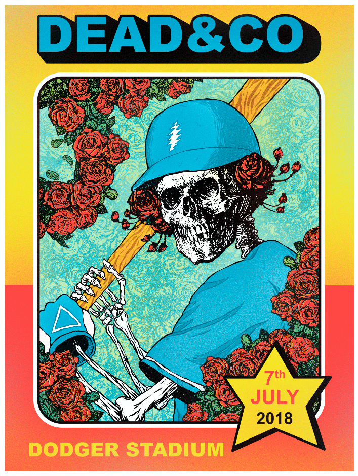 Dead & Company - Dodger Stadium, July 7th, 2018.
