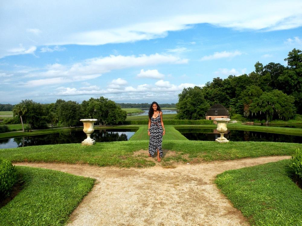 Exploring the beautiful Middleton Plantation, SC