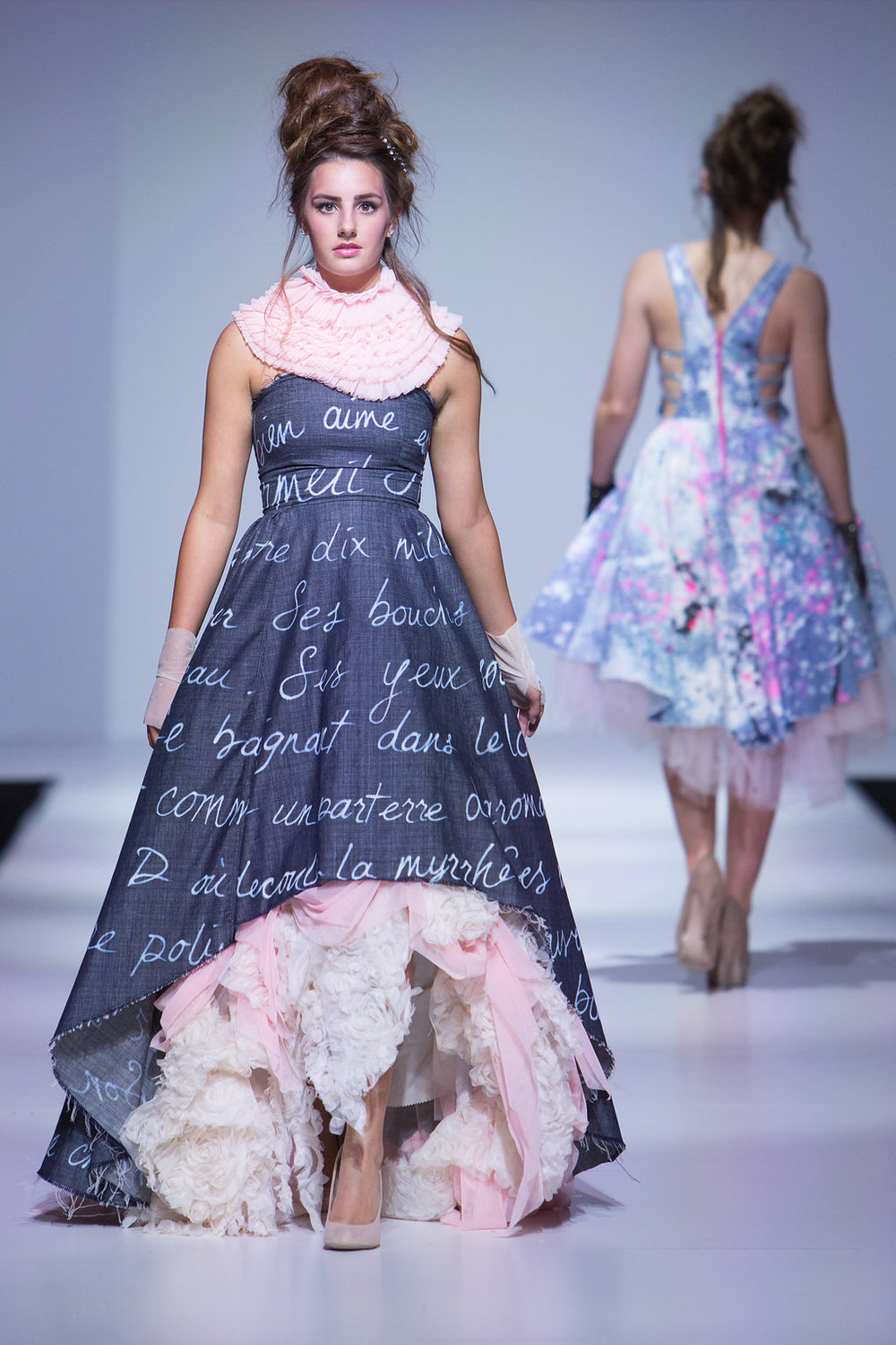 love letter dress... Song of Solomon passage translated into French.